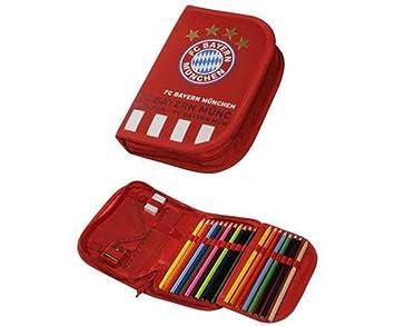 FanAndMore - Estuche escolar con el logotipo del Bayern de ...