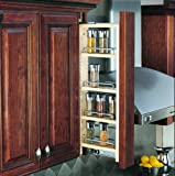 Rev-A-Shelf 3'' Wall Pullout (36'' H) Fillers, Natural
