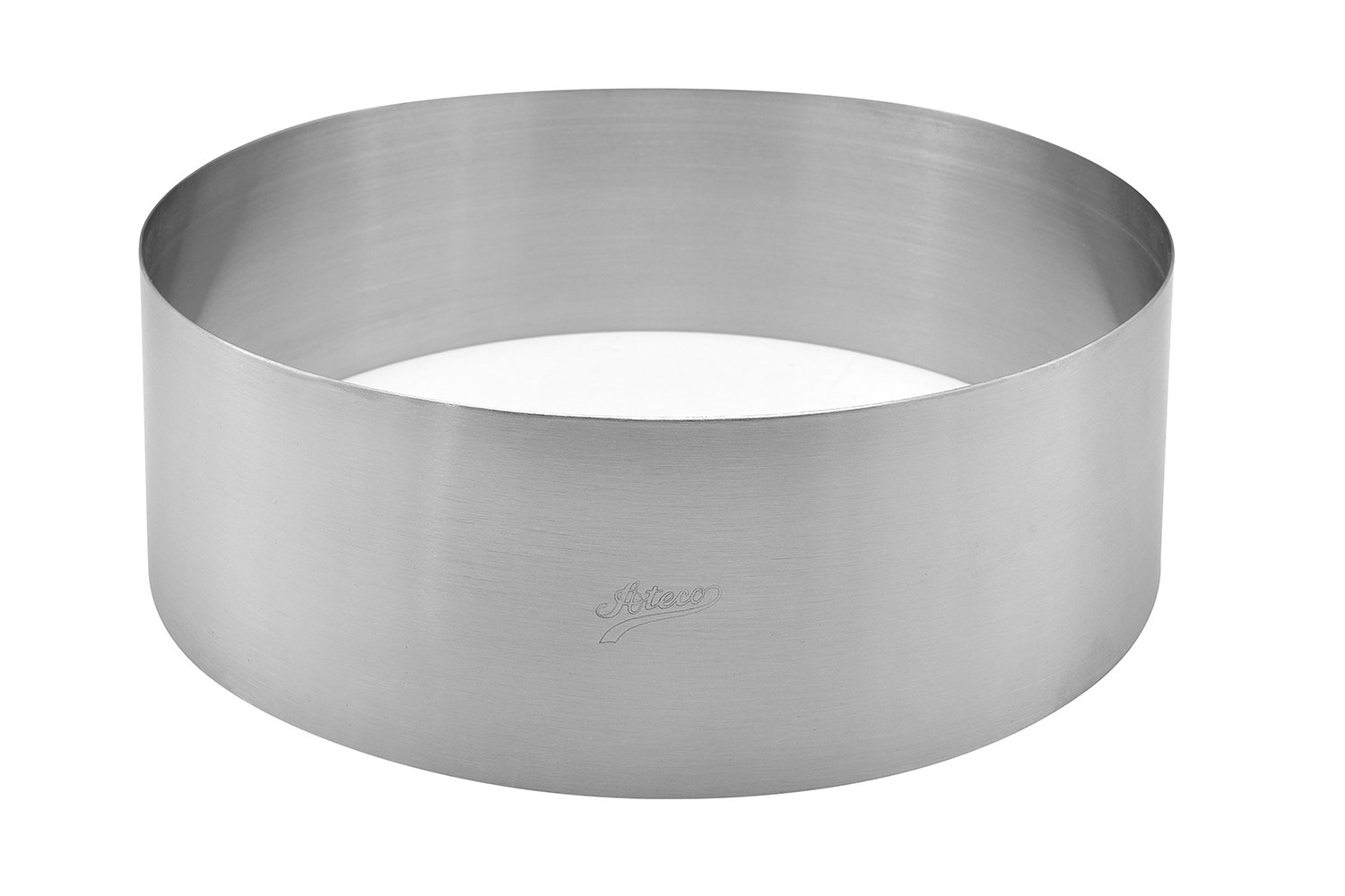 Ateco 48710 Round Stainless Cake Mold Ring 9.5 Inch by Ateco