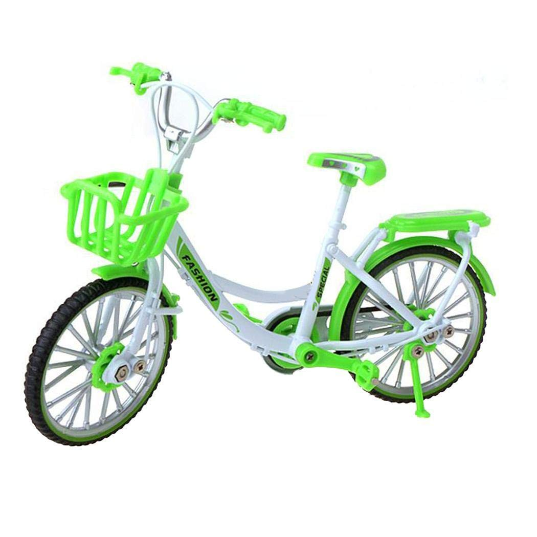Suines Alloy Bicycle Model Simulation Mini Bike Toy Ornaments Gift Vehicle Playsets