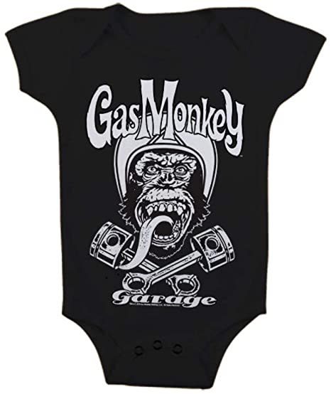 GAS MONKEY GARAGE - Baby Body Logo (6 Month) : TShirt , ML
