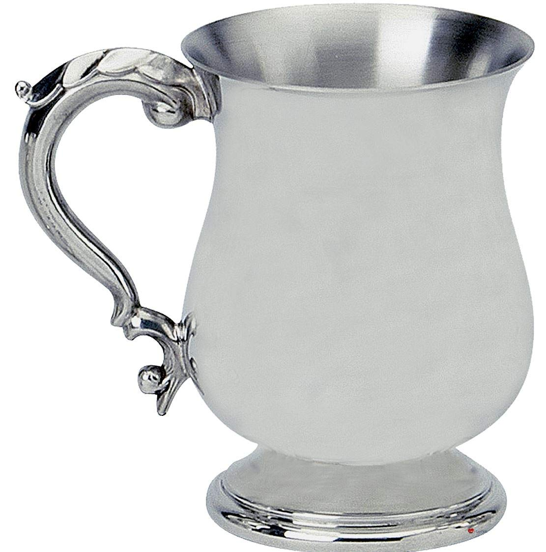 Georgian Style 1Pint Pewter Tankard I Luv LTD