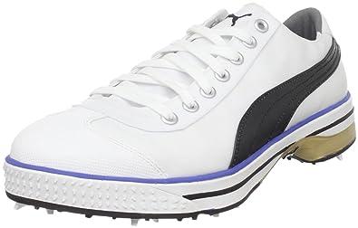 f107ca33c1c9 ... newest dcbb9 51ea1 PUMA Club 917 Mens Comfortable Water Resistant Golf  Shoes - Size 13 US ...