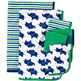 Newborn Baby Boy Washcloth And Towel Set (combo set)