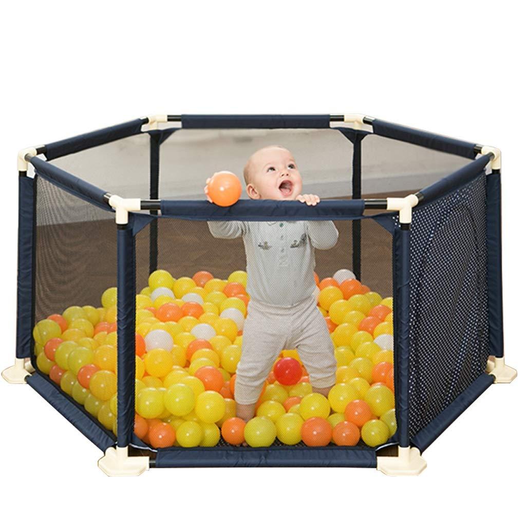 子供の遊びフェンスダウンロードフリーの写真ゲームプレイペンホームセキュリティフェンス安全プレイエリア子供のギフト (Color : Blue, Size : 150x150x66.5cm) 150x150x66.5cm Blue B07LGZ779P