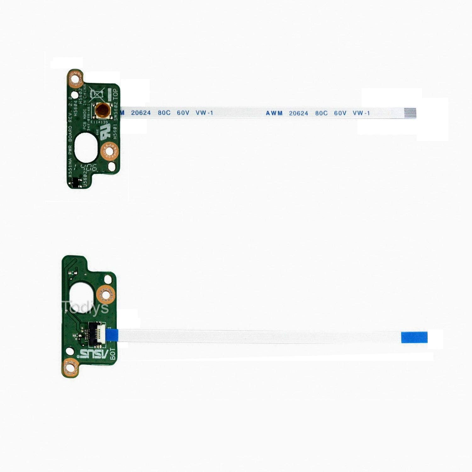 NEW Power Button Board For Asus X551 X551MA X551C X551CA 35XJCP80000 60NB0340