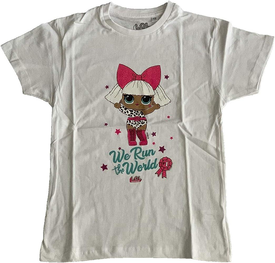 LOL Sorprise – Camiseta para niña 4/6/810 años Blanco 6 años: Amazon.es: Ropa y accesorios
