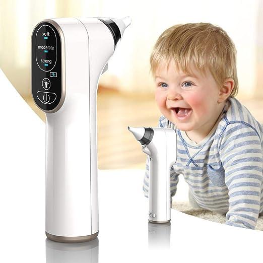 heresell Aspirador Nasal eléctrico bebés, con Carga USB, portátil ...