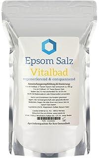 Epsom Salz Vitalbad – Sales de Epsom originales – magnesio, para baño – 1000 g