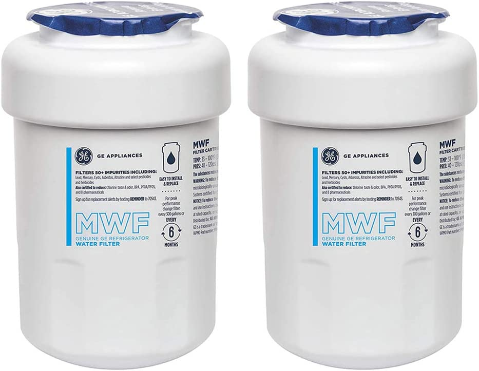 GЕ MWF GE Refrigerator Water Filter MWF filter ge refrigerator Replacement 2 PACK