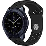 Galaxy Watch 42mm Bands, Galaxy Watch Active Bands, KADES 20mm Replacement Strap with Quick Release Pin Compatible for Gear Sport/Garmin VivoActive 3/ Ticwatch 2/ Ticwatch E/Amazfit Bip Smart Watch