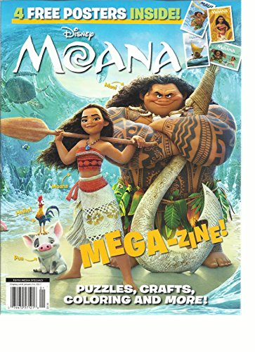 Disney Moana Puzzles Crafts Coloring