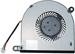 DREZUR CPU Cooling Fan Compatible for Dell Inspiron 13 13-5000 5368 5568 5378 5379 5578 5579 7375 7378 15-7579 7368 7569 Series Laptop Cooler 031TPT 4-Wire