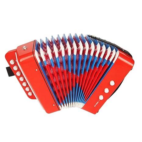 Tasti Bambini Pianoforte 10 Percussioni Fisarmonica Toyvian Con Per erdxCoB