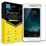 Ascension Curve 9H hard 2.5D Ultra Clear Tempered Gorilla Glass Screen Protector for VIVO V3 (Transparent)