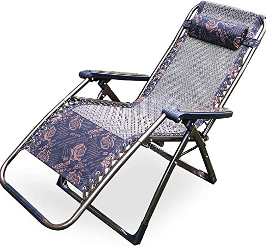 NO BRAND Tumbonas Jardin Silla reclinable Plegable Gravedad Cero ...