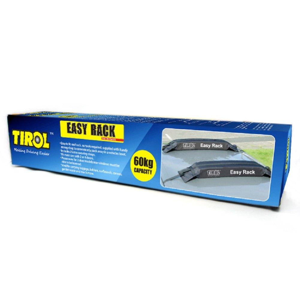 Tirol 174 Universal Auto Soft Car Roof Rack Carrier Luggage