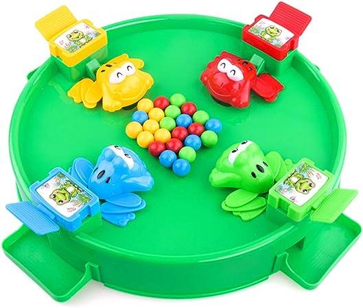 Daxoon Frog Food Beans Juegos de Mesa Juguete Interacción Entre Padres e Hijos Juguete de Escritorio para niños: Amazon.es: Hogar