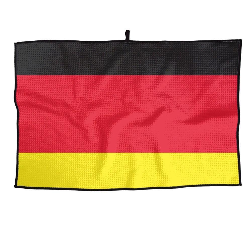ゲームライフドイツフラグPersonalizedゴルフタオルマイクロファイバースポーツタオル   B07FC8DYXR