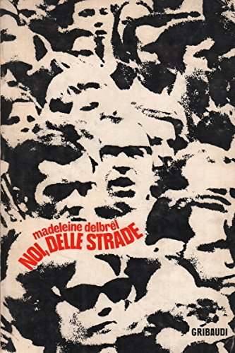 Book cover from Noi delle strade by Madeleine Delbrel