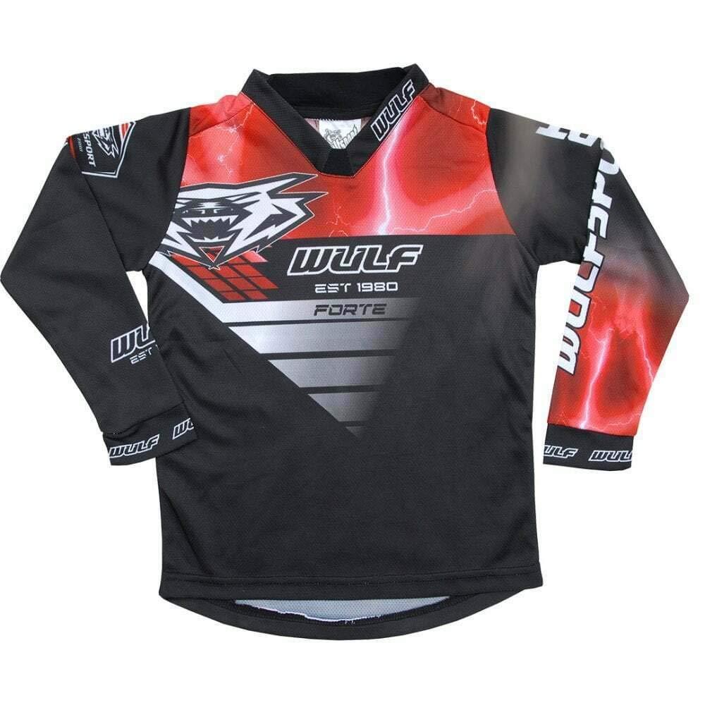 Nuovi 2019 Wulfsport Bambini Tuta Motocross Aztec Tuta Moto Bambino Maglia Pantaloni off-Road Quad ATV PITBIKE Jersey Cross Vestito de Capretti