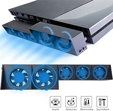 EEEKit Ventilador de enfriamiento para PS4, USB Refrigerador ...