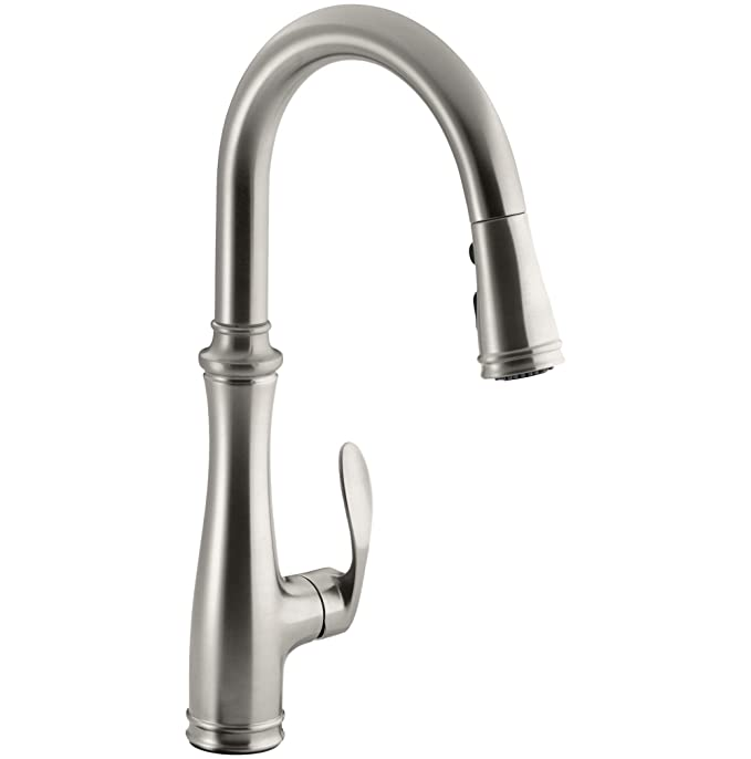 Best Pull Down Kitchen Faucet: Kohler K-560-VS Bellera Pull-Down Kitchen Faucet