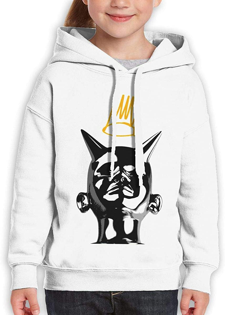 Guiping J Cole Teen Hooded Sweate Sweatshirt White