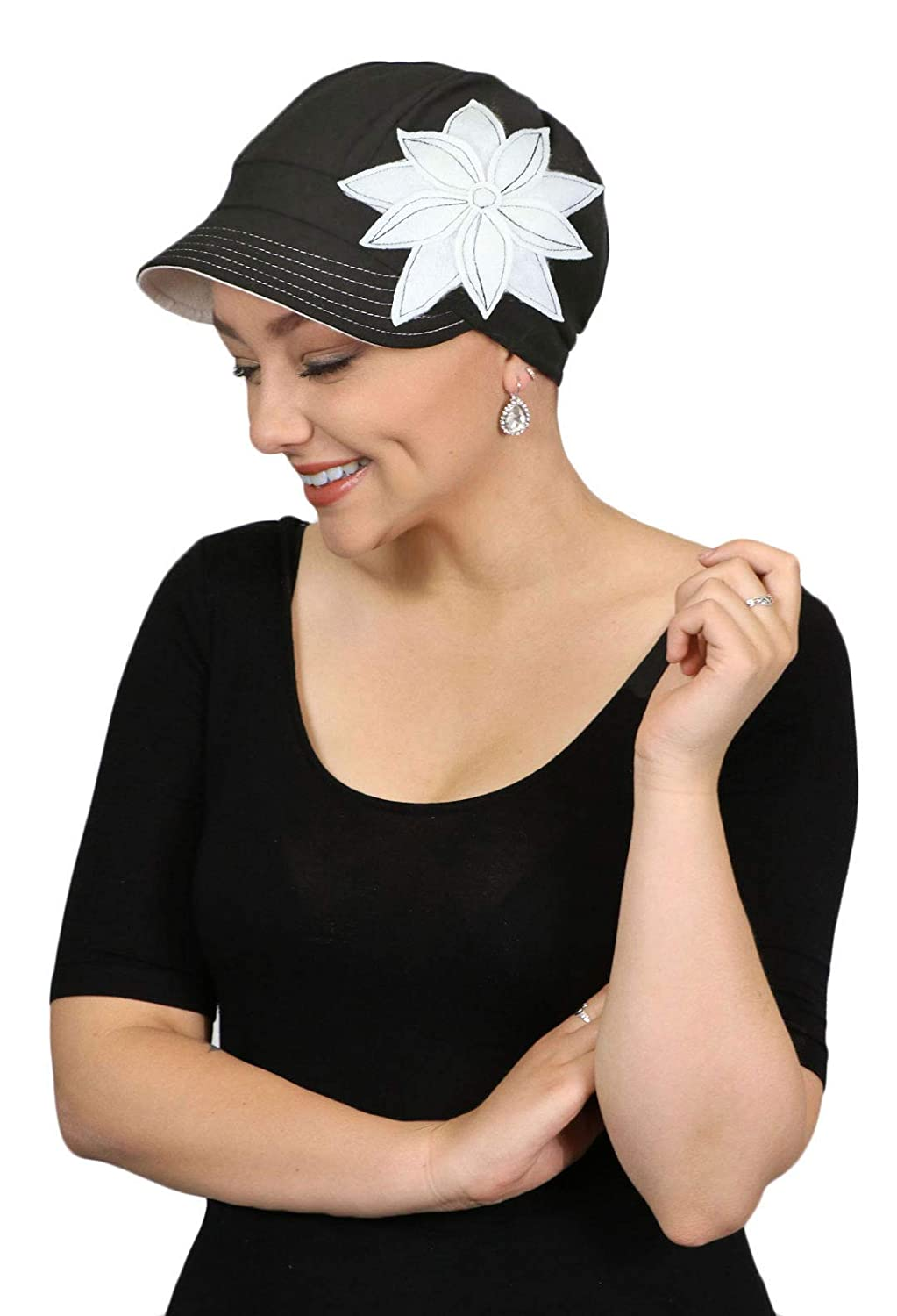 5e6946665 Chemo Hats for Women Cancer Headwear Headcoverings Cute Baseball Caps Cotton
