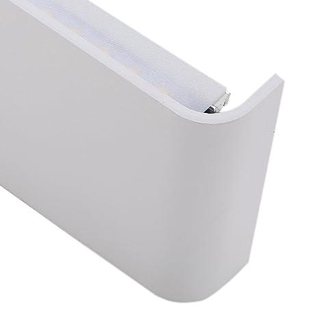 Liqoo® LED RGB Solar Lámpara de Jardín Detector del Sensor de Luz para Exterior Blanco