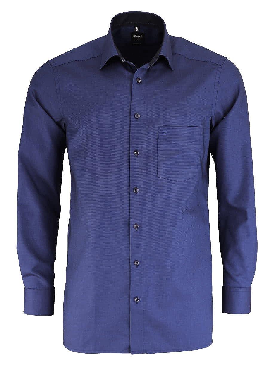 TALLA 46. Olymp Camisa Formal - Básico - Clásico - Manga Larga - Para Hombre