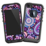 "Brilliant Jewel Tone Paisley ""Protective Decal Skin"" for LifeProof fre iPhone 5/5s Case"