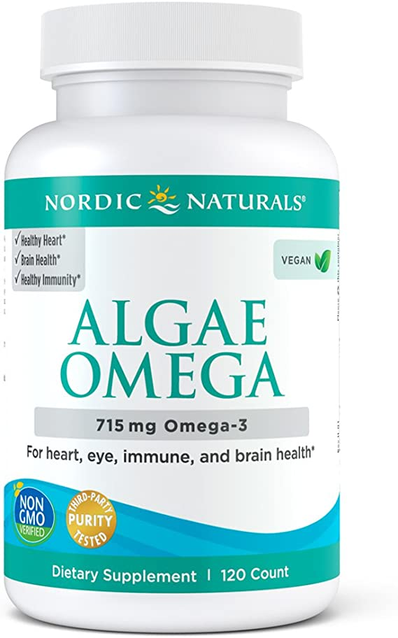 Nordic Naturals Algae Omega-3 Supplement