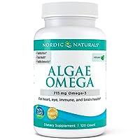 Nordic Naturals Algae Omega - Vegetarian Omega-3 Supplement for Eye Health, Heart...