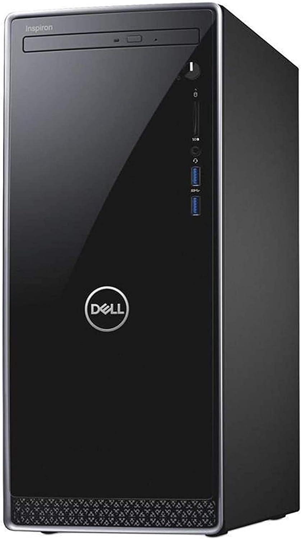 Dell Inspiron 3671 2020 Premium Desktop Computer I 9th Gen Intel 8-Core i7-9700 up to 4.7GHz I 8GB DDR4 256GB SSD + 1TB HDD I Intel UHD Graphics 630 WiFi DVD USB Win 10
