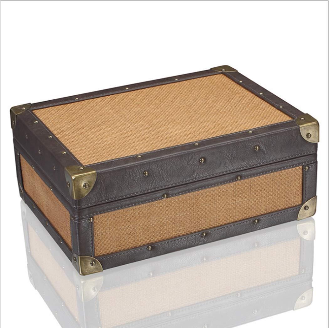 シガーヒュミドールシダー木製シガーオーガナイザービンテージシガーボックスシガー容量約50   B07GFH54JB