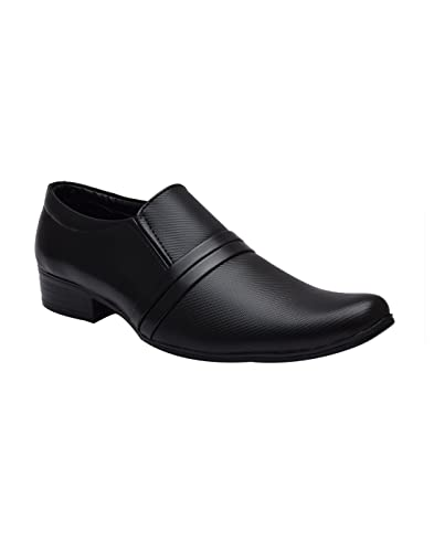 Sir Corbett Men's Hector Synthetic Leather Formal Shoes