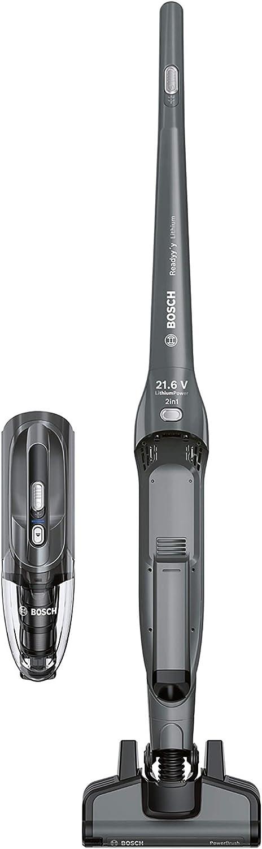 Bosch BBH2P214L Readyyy 2-in-1 - Aspirador escoba vertical sin ...