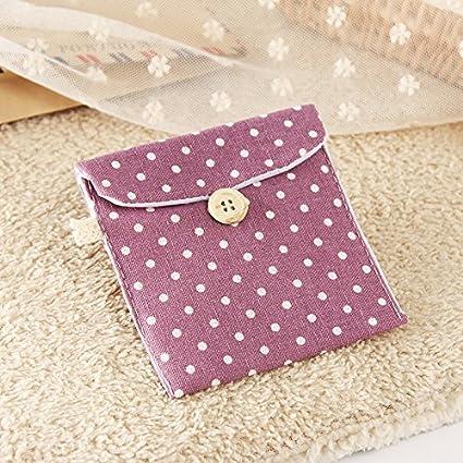 Punto de la ola coreana algodón toallas sanitarias admitir compresas algodón tía embalaje bolsa de paquete