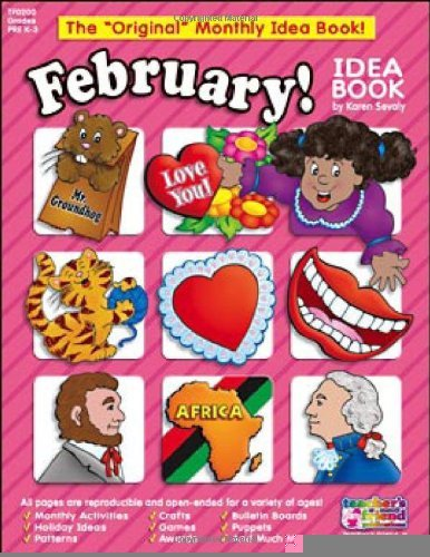 February Monthly Idea Book (Original Monthly Idea Books) [Paperback] [2002] (February Monthly Idea Book)