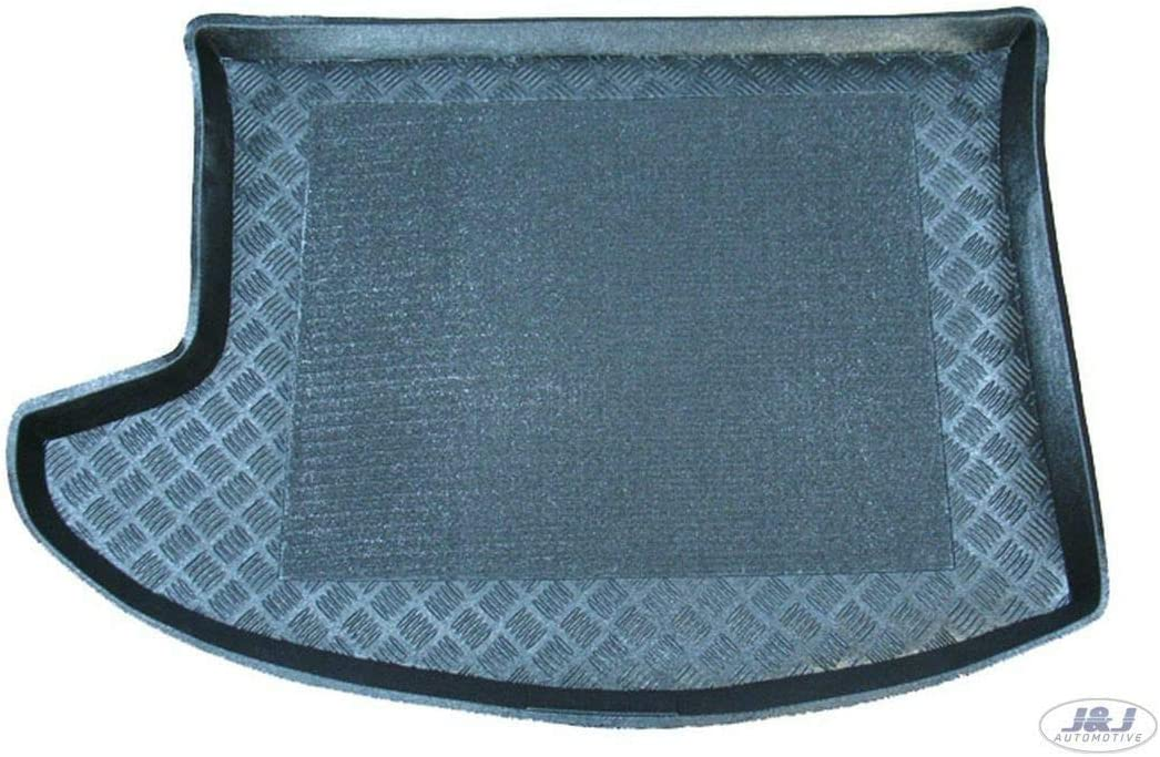 J/&J AUTOMOTIVE Tapis de Coffre Antid/érapant Compatible avec Jeep Patriot 2006-pr/és
