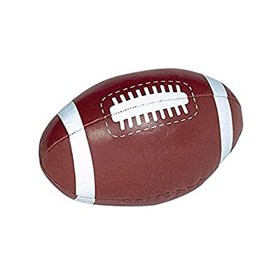 Amscan Football Soft Sports Ball, Party Favor: Kitchen & Dining