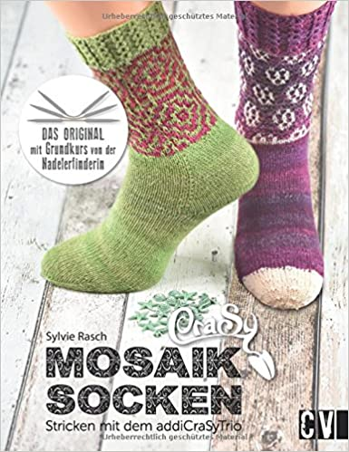 CraSy Mosaik – Socken: Stricken mit dem addiCraSyTrio: Amazon.de ...