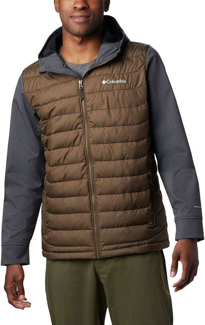 Columbia 哥伦比亚 Powder Lite 热反射 户外男式连帽保暖棉服夹克 XL码1.7折$18.72 海淘转运到手约¥192