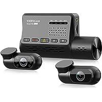 3 Channel Dash Cam VIOFO A139, Front+Interior+Rear 1440P+1080P+1080P Triple Car Dash Camera w/WiFi, GPS, Anti-Glare CPL…