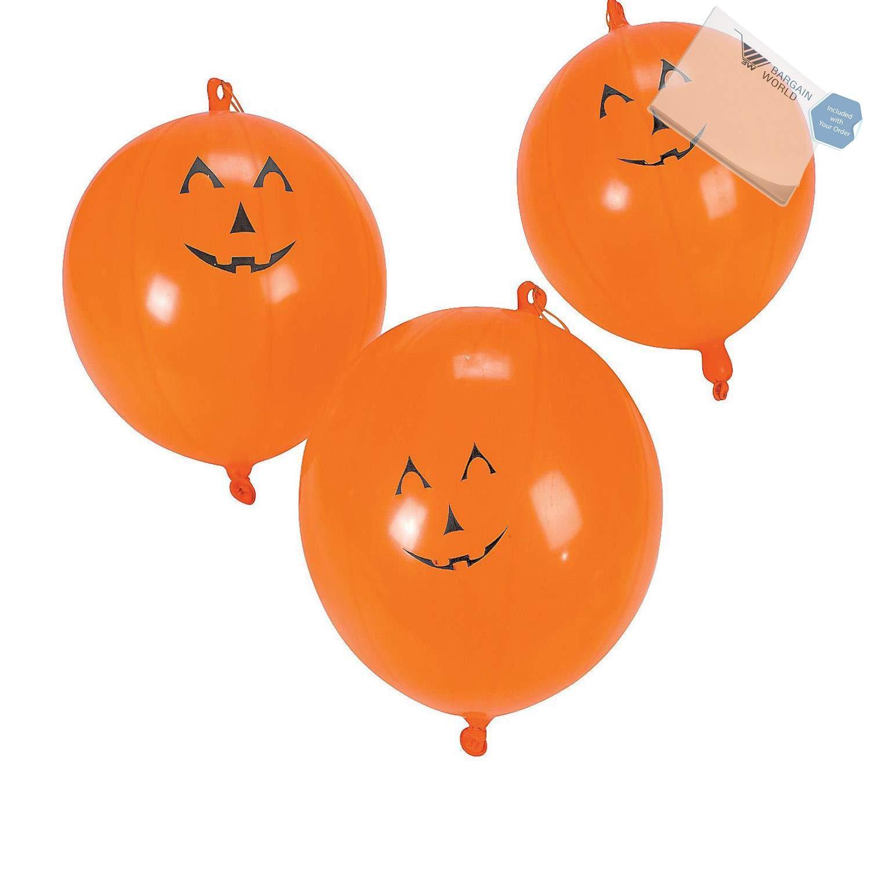 Bargain Worldジャックオーランタンゴム製パンチボール(な付箋) 80 Dozen (960 pieces) B4963733123551W B07DN6CFCG  80 Dozen (960 pieces)