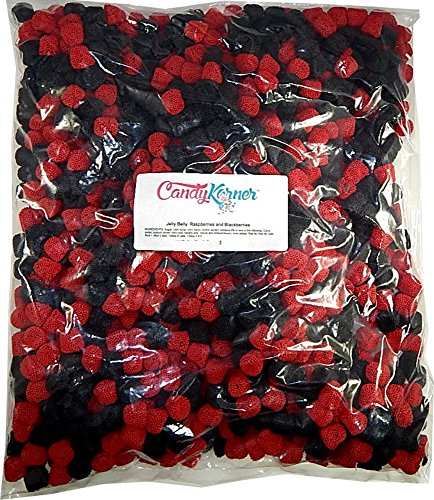Jelly Belly Raspberries And Blackberries 10 Pound