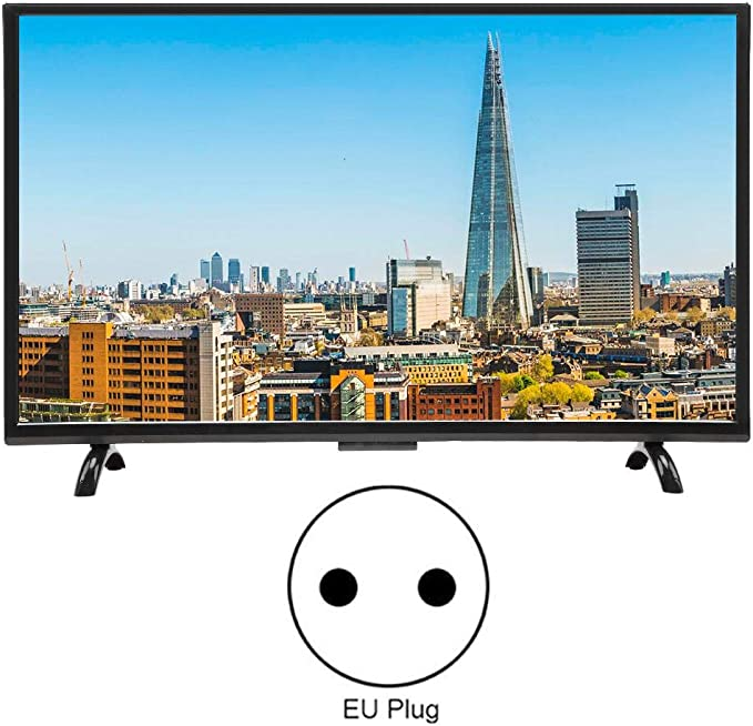 Pomya Ultra HD Smart LCD TV, TV Curva de Pantalla Grande de 32 Pulgadas, Smart TV Multifuncional 3000R Curvature TV 4K HDR Versión de Red, 110V(EU): Amazon.es: Electrónica