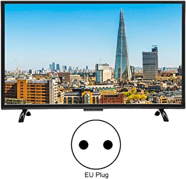 Pomya Ultra HD Smart LCD TV, TV Curva de Pantalla Grande de 32 Pulgadas, Smart TV Multifuncional 3000R Curvature TV 4K HDR Versión de Red, 110V(EU): Amazon.es: Electrónica