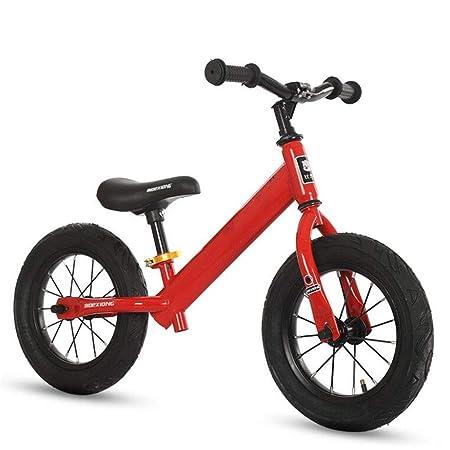 XRQ Bicicleta De Equilibrio para Niños, Marco De Acero con Alto ...